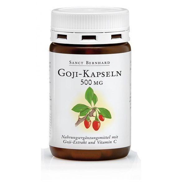 Goji 500 mg S. Bernhard kapszula 90 db #76