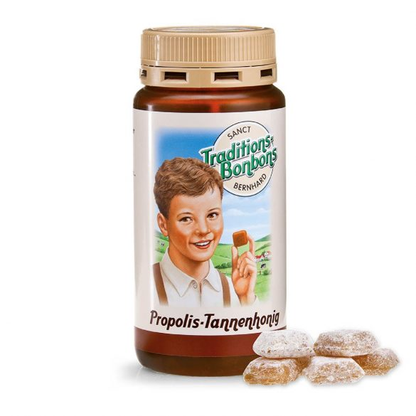 Propolisz-fenyőméz cukorka S. Bernhard 170g # 2809