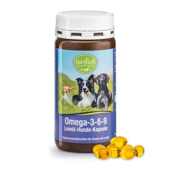 Omega-3-6-9 Lenmagolaj kutyáknak S. Bernhard 180 db kapszula #968