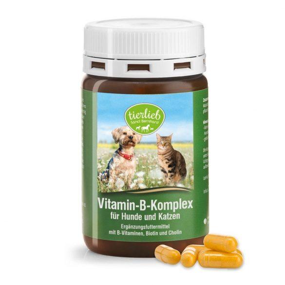 B Vitamin-Komplex kutyáknak és macskáknak S.Bernhard 120 db kapszula #964