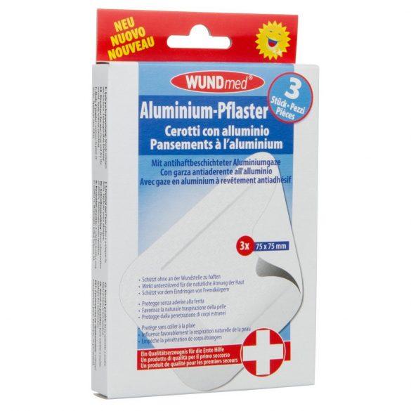 WundMed Alumínium Sebtapasz 3 x 75 x 75mm  /03-005   /913