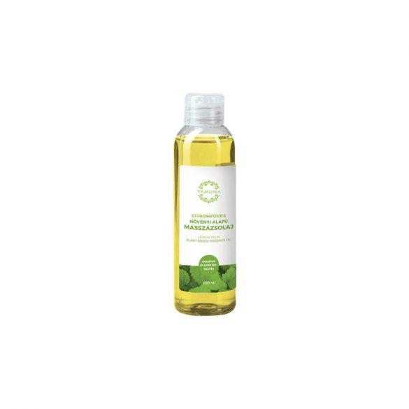 Yamuna növényi masszázsolaj citromfű 250 ml