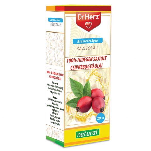 Dr.herz csipkebogyóolaj 100% hidegensajtolt 20 ml