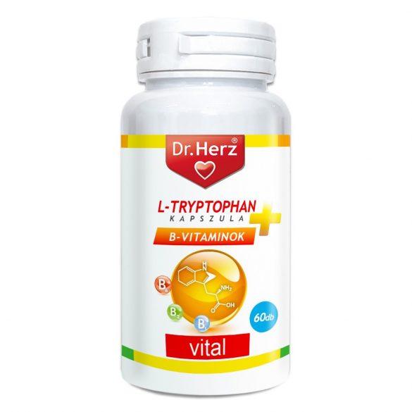 DR Herz L-Tryptophan + B-vitaminok 60 db kapszula #ÉM
