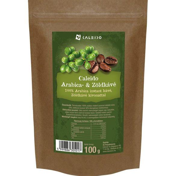 Caleido Arabika- és Zöld kávé 100 g