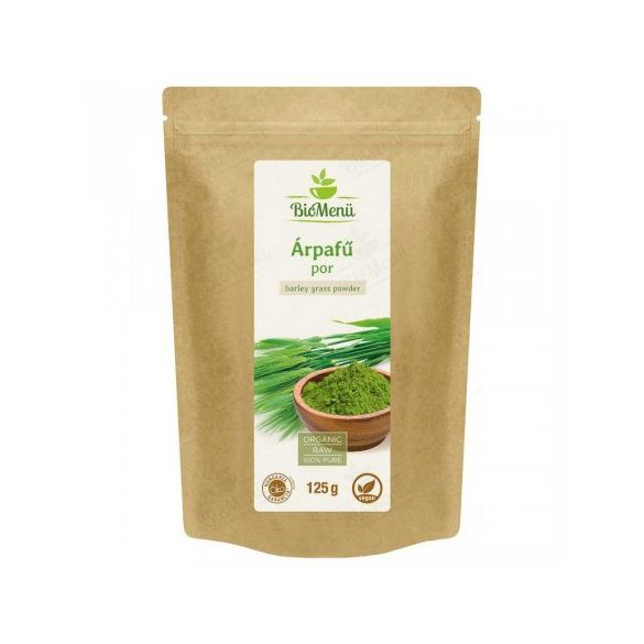 Bio menü bio árpafű por 125 g