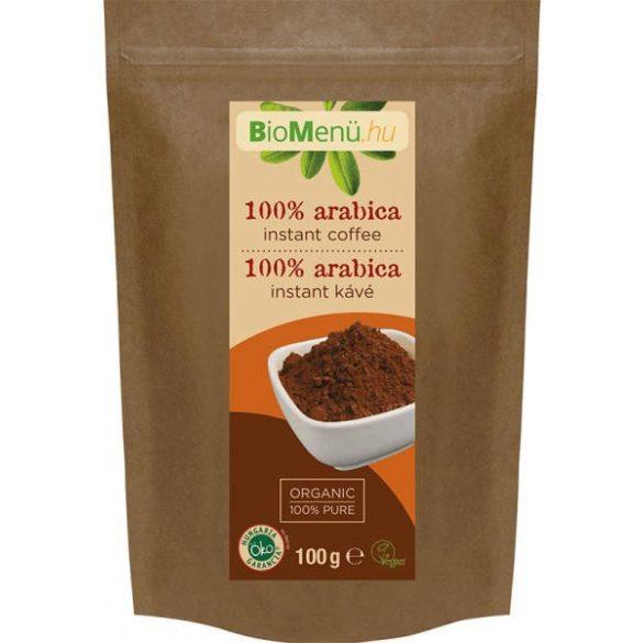 Bio menü bio 100% arabica instant kávé 100 g