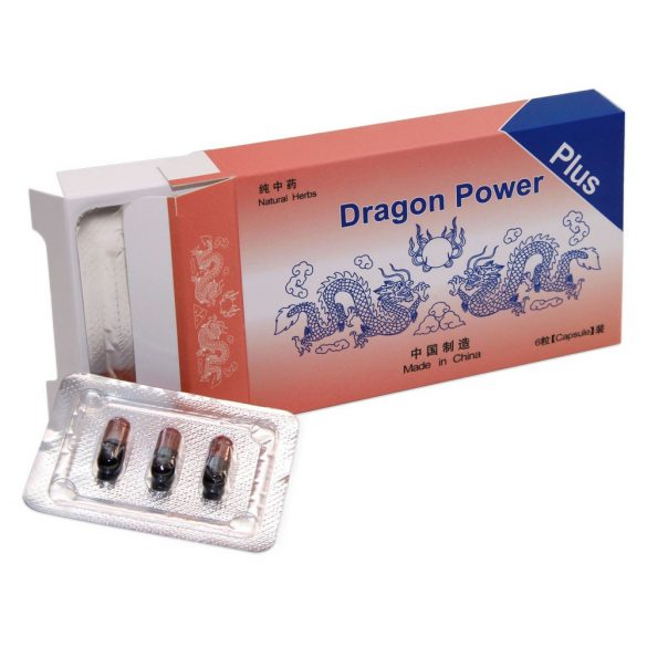 Dragon Power Plus 6 db kapszula #ZU